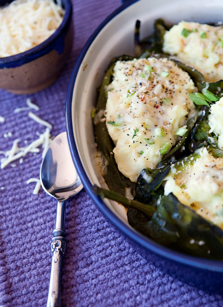 Pepper Jack Potato-Stuffed Poblano Peppers
