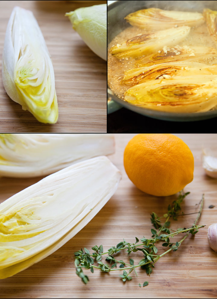 Roasted Belgian Endive with Gruyère Cheese and Thyme