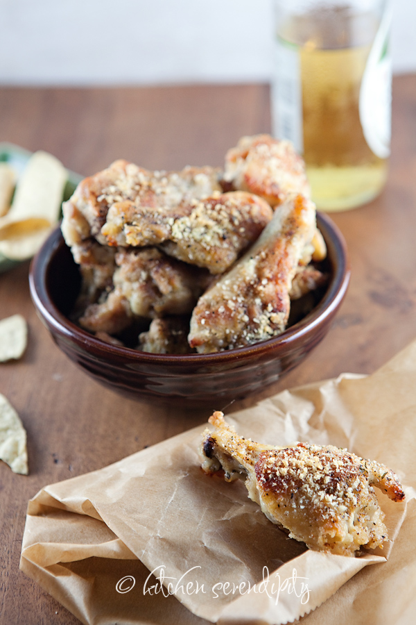 Peppery Panko-Kissed Chicken Drumettes