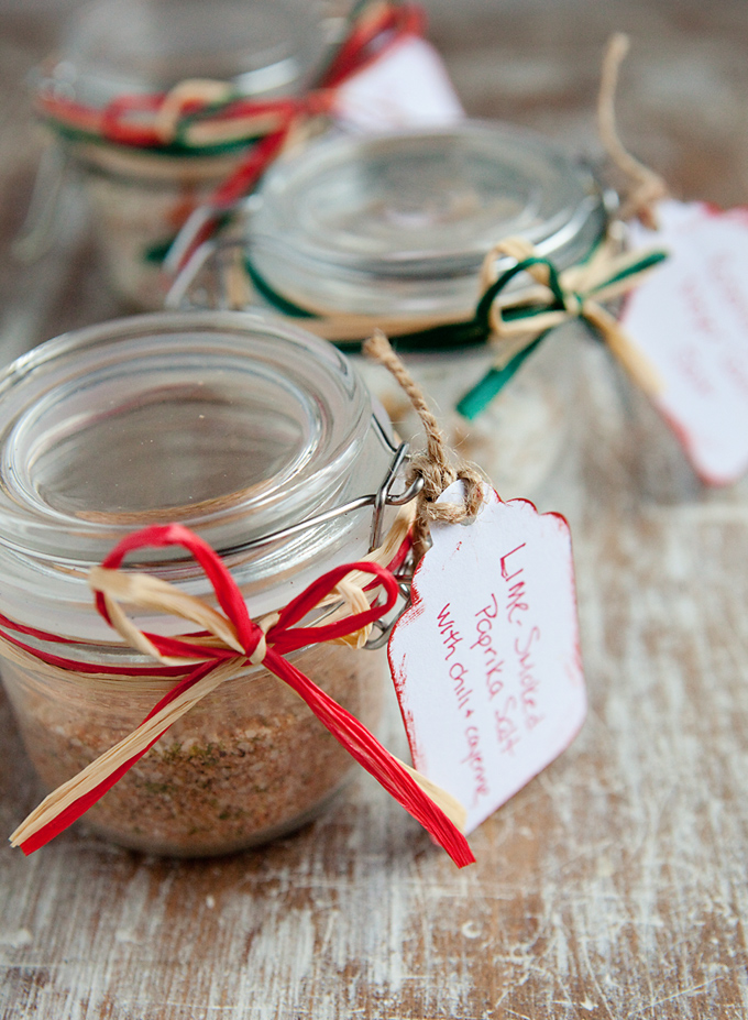 gifts from your kitchen – flavored salts